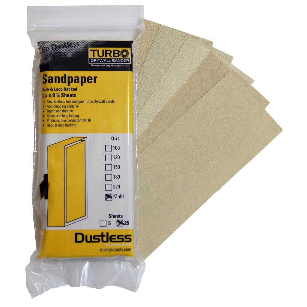 Sandpaper Multi Pack 25 Pack