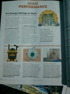 Remodeling Magazine on Remodeling Magazine  Featuring The Dustless Technologies Hepa Wet Dry