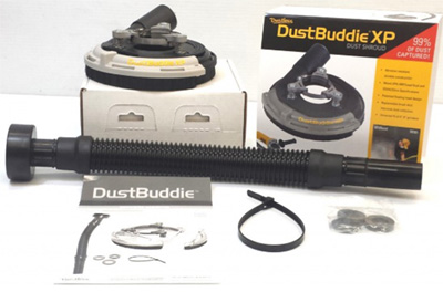 Dust Buddie XP for Dust Free Grinding