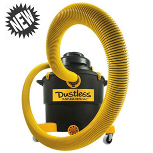 Dustless HEPA Wet Dry Vacuum for Silica Dust