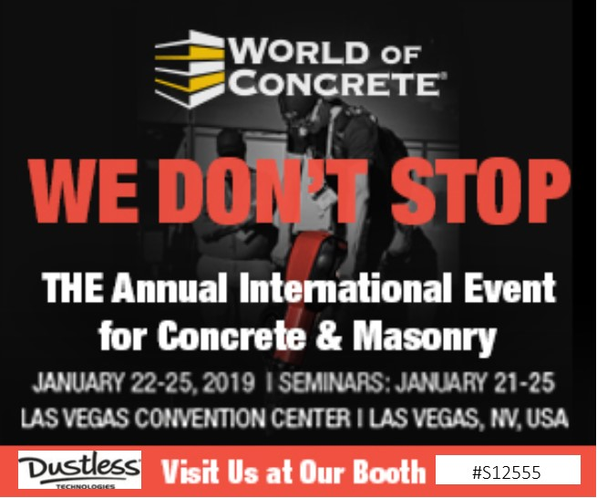 World of Contrete 2019