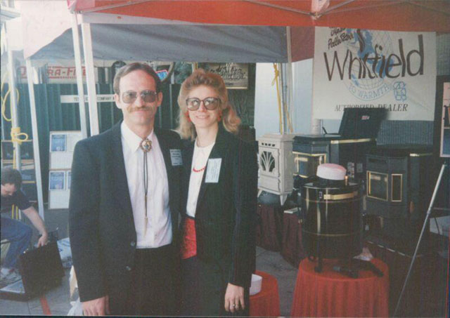 Mike and Colleen Loveless at a tradeshow #2